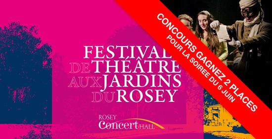 Festival de théâtre aux jardin du Rosey